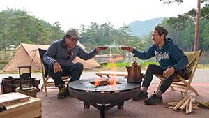 焚火インタビュー・おおぐて湖キャンプ場|南信州をキャンプの聖地に