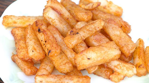 ナガイモ料理|長野市松代町のナガイモ