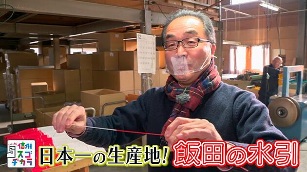 日本一の生産地!飯田の水引