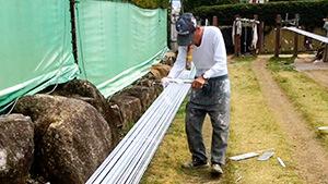 問屋「松文」 日本一の生産地!飯田の水引