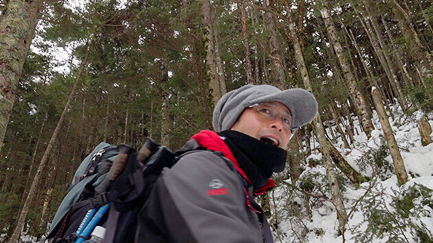 みんなの山 冬の八ヶ岳編 ぬくもりの山小屋をはしごして(2月20日 土曜 午前10時45分)