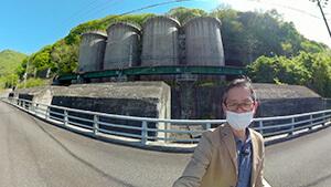 発電所・草田敏彦(abnアナウンサー)|はんにちドライブ7 新緑の南信州ほっこり出会い旅
