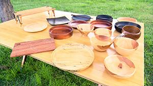 SANZOKU PRODUCTS・手作り木製食器 信州のアウトドアをアツくする人たち
