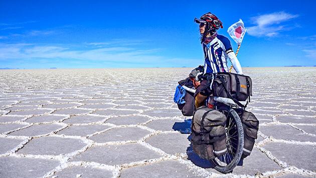 自転車冒険家 小口良平 自転車で世界一周!冒険家 小口良平