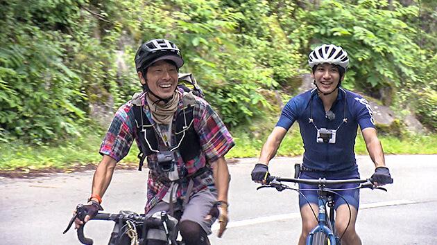 自転車冒険家 小口良平・山岡秀喜(abnアナウンサー) 自転車で世界一周!冒険家 小口良平