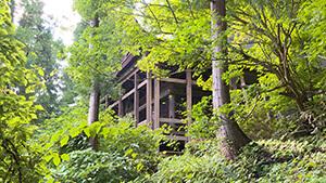小菅神社奥社|飯山市 小菅の里を歩く