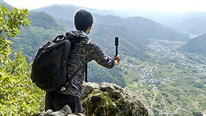 断崖絶壁の尼巌城跡|里山トレッキング!長野市は山城の宝庫