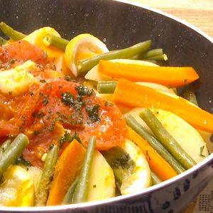 鶏肉と野菜のモロッコ風フライパン蒸し(2月20日 水曜 よる6時55分)