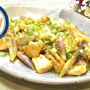 鶏肉とミョウガのオイスター炒め(6月26日 水曜 よる6時55分)