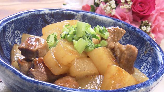 豚肉と大根の煮込み(11月4日 水曜 よる6時55分)