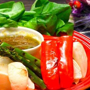 グリル野菜のバーニャカウダー(12月9日 水曜 よる6時55分)