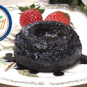 ホットチョコケーキ(2月10日 水曜 よる6時55分)