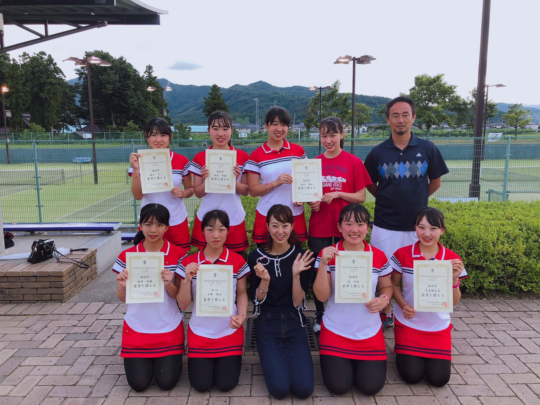最後の大会!屋代高校女子テニス班(中野)