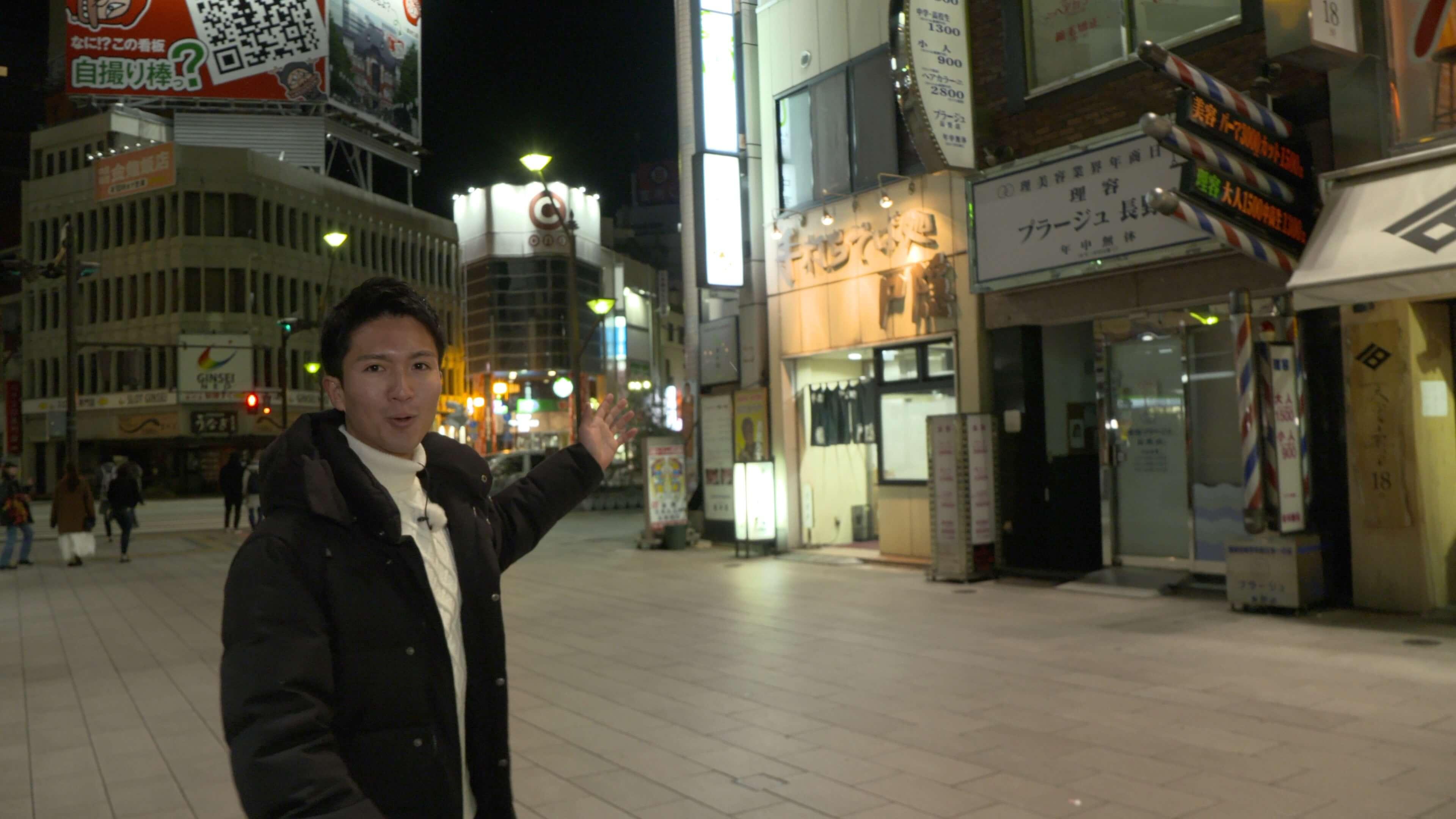 """"""" 密着!長野駅前の年越しそば """""""