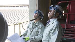 炭平コーポレーション 県立武道館建設現場|信州の百年企業