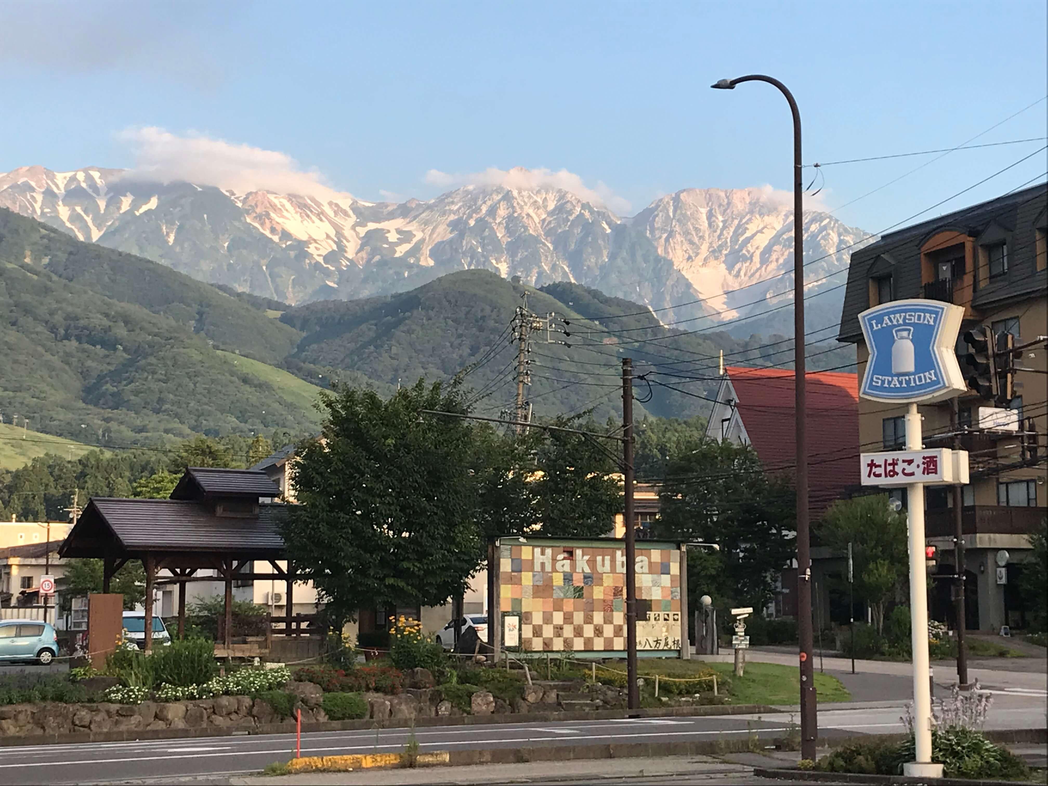 草田アナ 白馬岳に登る