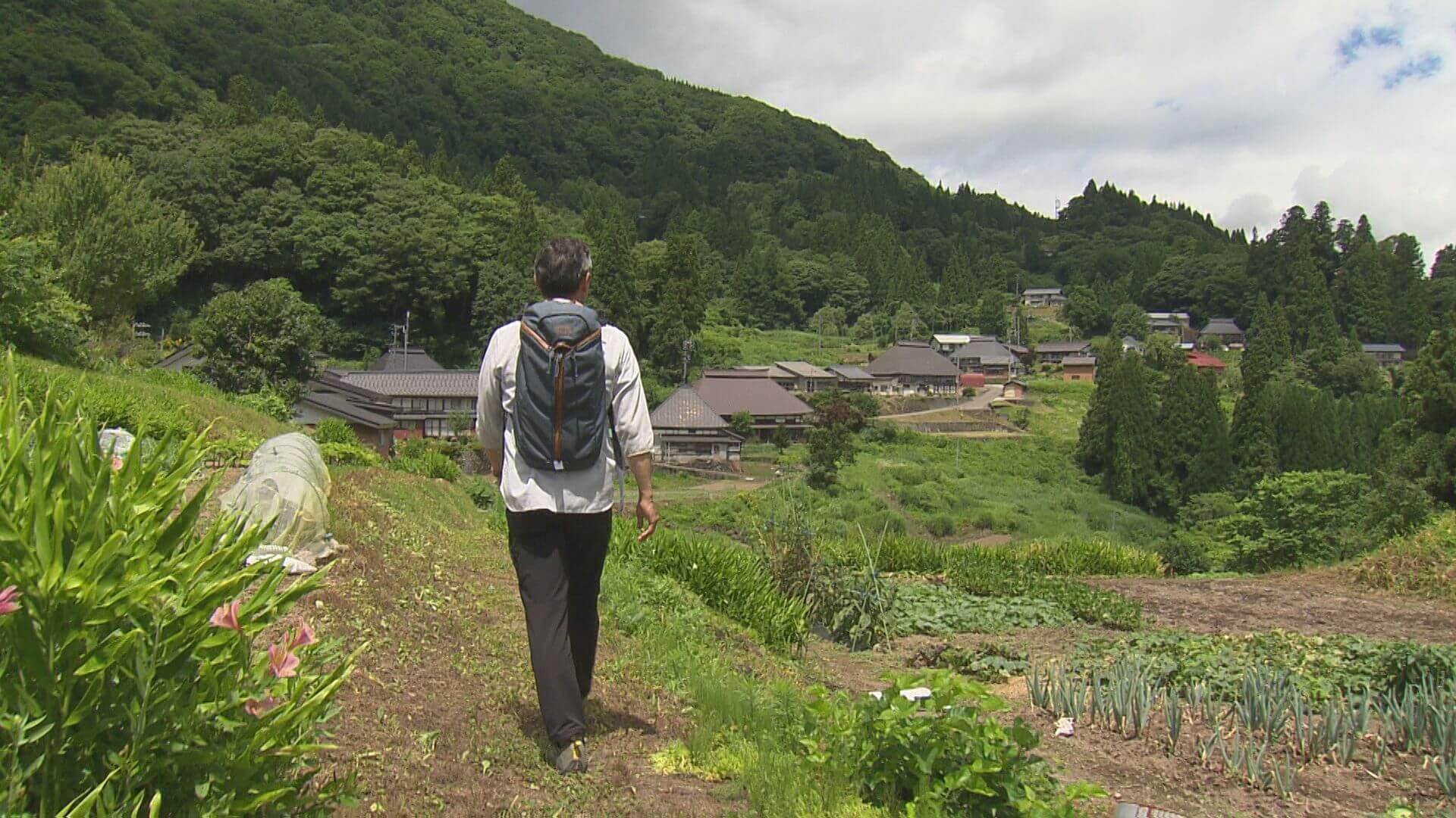 草田アナ塩の道を行く