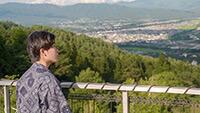 伊那谷を眺める   水と生命のシンフォニー 第1楽章(冬から春)