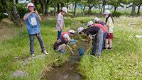 安曇野市 豊科北小学校の水育   水と生命のシンフォニー 第1楽章(冬から春)